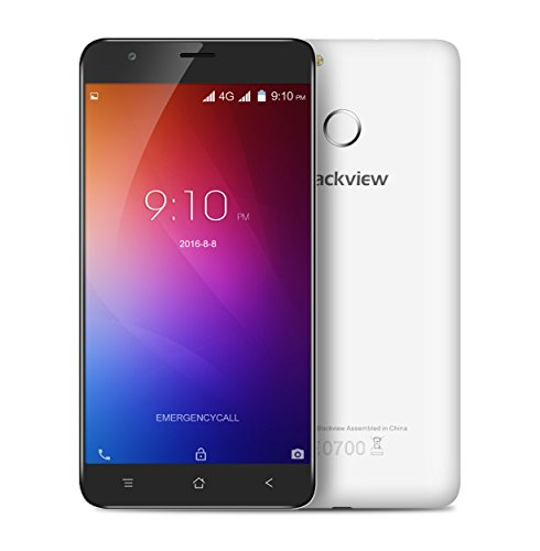 "5.5"" HD Original Blackview E7S Mobile Phone Android 6.0 MT6580A Quad Core 2GB+16GB 8MP Dual SIM 2700mAh Fingeprint 3G WCDMA"