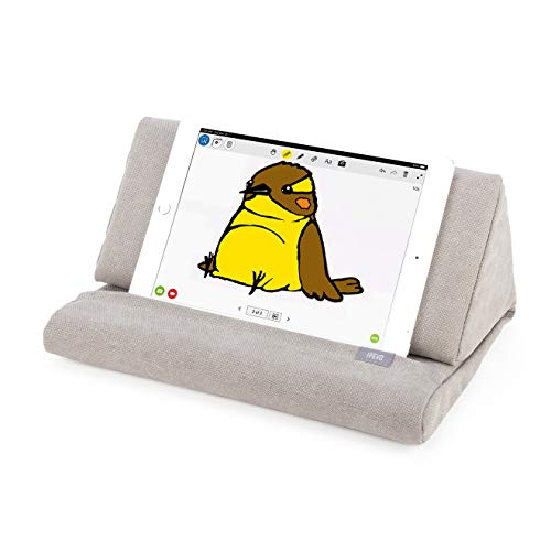 IPEVO PadPillow Stand for iPad Air & iPad 4/3/2/1Nexus/Galaxy - Light Khaki (MEPX-07IP)