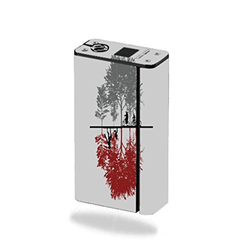 Decal Sticker Skin WRAP - Smok XCube Mini 75W - Two Dimensions Design