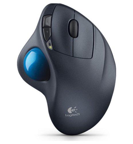 Logitech M570 Wireless Trackball-(Renewed)