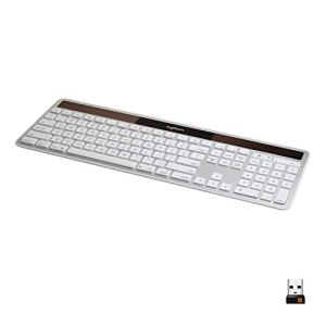 Logitech K750 Wireless Solar Keyboard for Mac — Solar Recharging, Mac-Friendly Keyboard, 2.4GHz Wireless - Silver 3