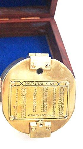 ITDC 3' Brunton Style Compass w/Box - Navigational Instrument