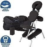 Earthlite Vortex Massage Chair Package (Black)