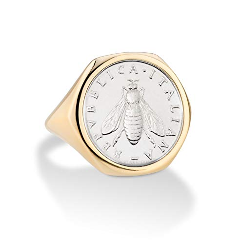 Italian 2 Lira Coin Ring