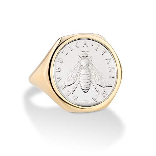 Italian 2 Lira Coin Ring