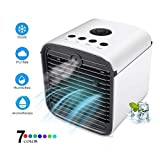 Air Conditioner, Portable Oscillating Fan Air Cooler, Fan & Humidifier, Purifier, Desktop Cooling Fan for Office Household Outdoors