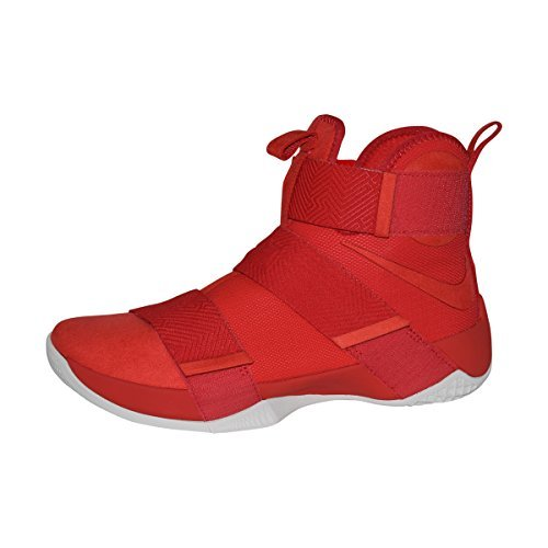 NIKE Men's Lebron Soldier 10 SFG Lux (University Red/University Red, 9 D(M) US)