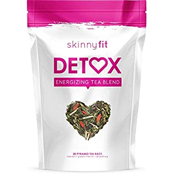 SkinnyFit Detox Tea: All-Natural Cleanse, Laxative-Free, 28 Servings