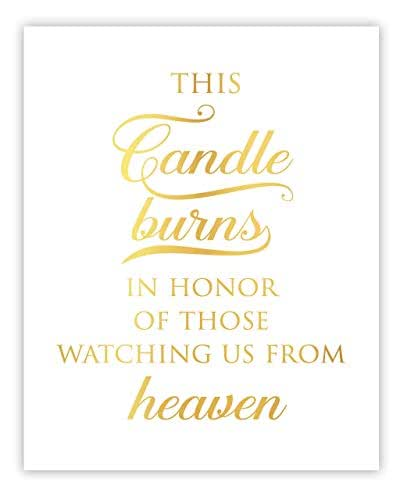 Download Amazon.com: This Candle Burns In Honor, In Loving Memory ...