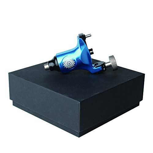 Rotary Tattoo Machine Swiss Motor Liner Shader Supply with Best Rotary Tattoo Gun for Tattoo Artist For (blue)