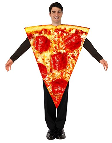 Forum Men's Pizza Costume, Multi/Color, One Size