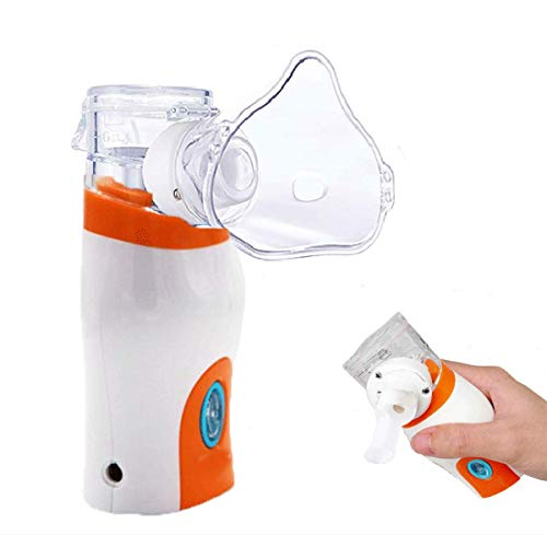 Portable Steam Inhaler,Personal Vaporizer,Handheld Ultrasonic Humidifier for Kids & Adults Travel and Household Use