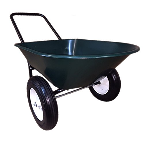 Garden Star 70006 Flat Free Yard Rover Wheelbarrow/Garden Cart