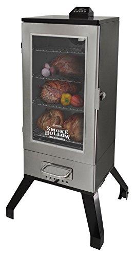 Smoke Hollow 3616DEWS  36-Inch  Digital Electric Smoker with Window, Stainless Steel