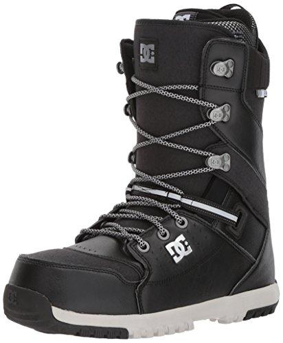 DC Men's Mutiny Lace Snowboard Boots, Black, 11