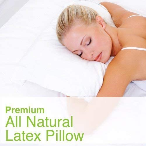 Very smooth non-latex rubber pillow