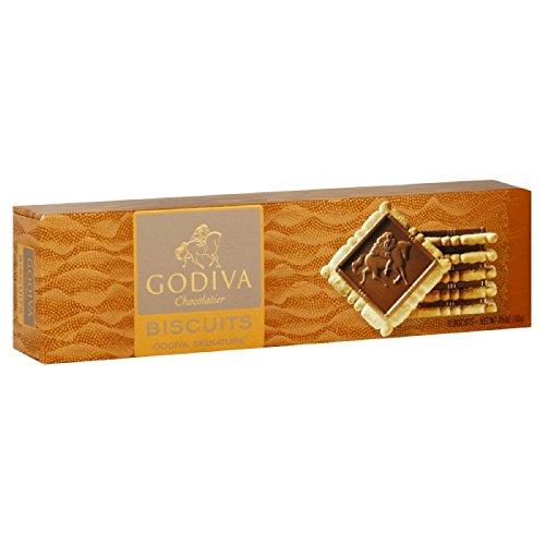 Godiva Chocolatier Chocolate Biscuit Box