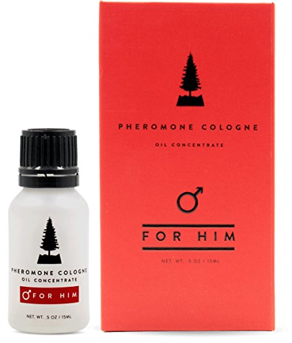 Pheromones For Men Pheromone Cologne Oil [Attract Women] - Bold, Extra Strength Human Pheromones Formula by RawChemistry - 15mL Concentrate (Human Grade Pheromones to Attract Women)