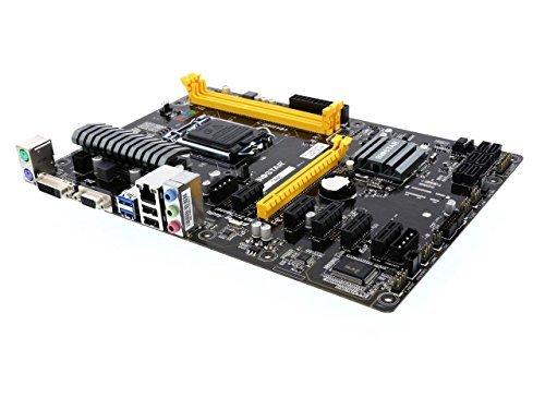 Biostar Motherboard TB85 Core i7/i5/i3 LGA1150 B85 DDR3 SATA PCI Express USB ATX Retail