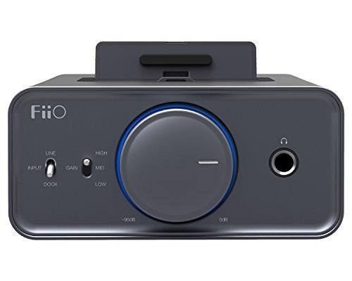 FiiO K5 Docking Headphone Amplifier/DAC, Titanium