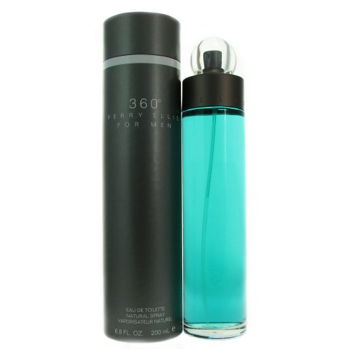 Perry Ellis 360 Eau de Toilette Spray for Men, 6.8 Ounce