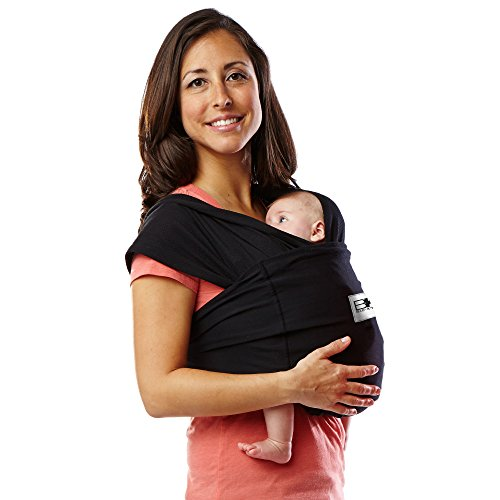 Baby K'tan Baby Wrap Carrier Black S (W6-8 M37-38)