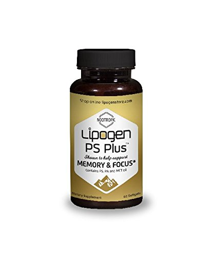 Boosts Brain Function and Memory: Clinically STUDIED AND PROVEN Formula. Scientifically Optimized – Highly Effective Dose – Phosphatidylserine + Phosphatidic Acid – Lipogen PS Plus