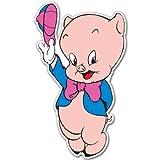 Porky Pig Looney Tunes vynil car sticker 3' x 5'
