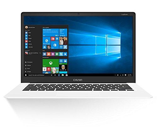 "CHUWI Lapbook 14.1"" Laptop, Full HD(1920x1080) Display Notebook PC with 7th Gen Intel Celeron Quad Core Processor,Ultra Thin Design,4GB RAM/64GB ROM,2.4/5Ghz Wi-Fi and Windows 10 Redstone"