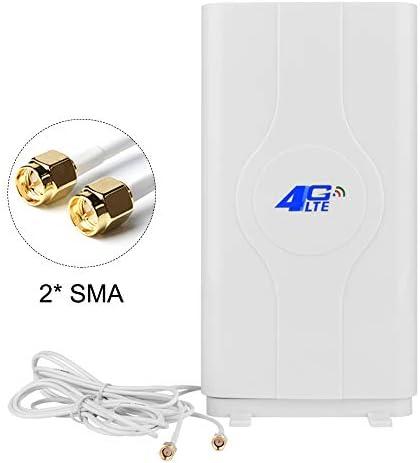 NETVIP SMA x 2 4G LTE Antenna 30dBi High Gain Network Antenna Dual MIMO