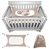 Itomoro Baby Hammock Crib Wombs for Bassinet Infant Newborn,Enhanced Material,Double-Layer Breathable Supportive Mesh Metal Buckle Hammocks Bed