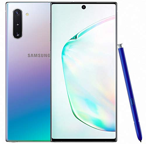 41dfJvmb1DL - Samsung Galaxy Note 10 (Aura Glow, 8GB RAM, 256GB Storage) with No Cost EMI/Additional Exchange Offers