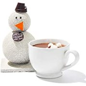Kate Weiser Chocolate Carl the Drinking Chocolate Snowman - Serves 5-8 Cups