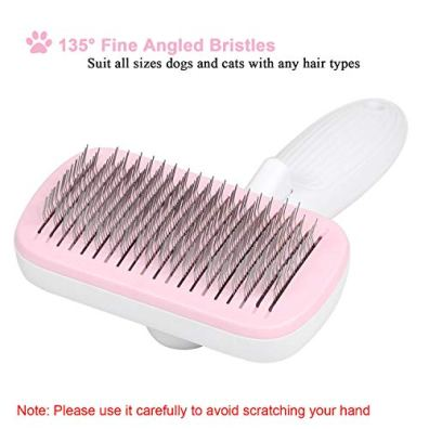 UPSKY-Dog-Brush-Cat-Brush-Self-Cleaning-Dog-Slicker-Brush-Easy-to-Clean-Pet-Grooming-Brushes-Shedding-Grooming-Tools-for-Dogs-Cats-with-Long-or-Short-Hair