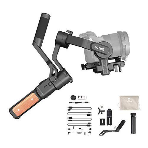 FeiyuTech-AK2000s-Handheld-Gimbal-Camera-Stabilizer-with-Handle-Bar-LCD-Screen-for-DSLR-Camera-Sony-a6300-a6400-a6500-Canon-M50-EOS-R-Panasonic-DC-GF9XGK-DMC-LX100-Nikon-Fujifilm