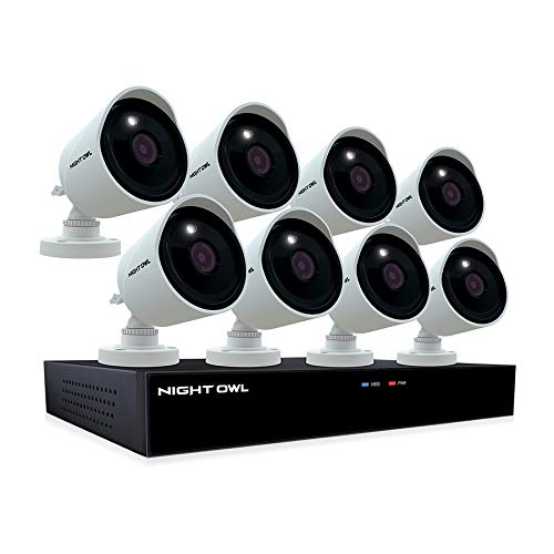 Night-Owl-CCTV-Video-Home-Security-Camera-System-with-8-Wired-4K-Ultra-HD-IndoorOutdoor-Cameras-with-Night-Vision-and-2TB-Hard-Drive