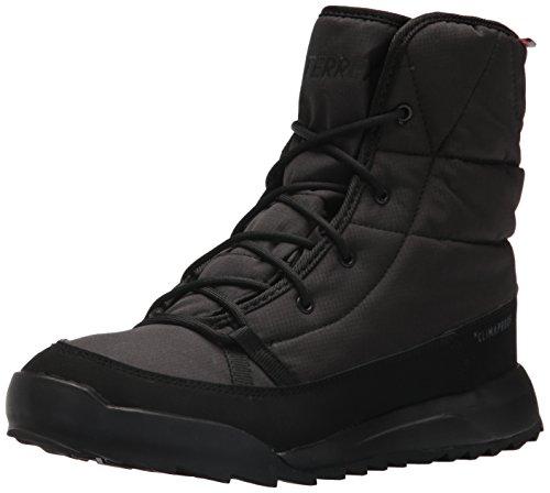 adidas outdoor Women's Terrex Choleah Padded CP Walking Shoe, Black/Chalk White/Grey Five, 7.5 M US