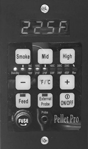 Pellet Pro PID Pellet Grill Controller for Traeger,Pit Boss,Camp Chef, w/Adapter