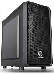 Thermaltake Versa H15 SPCC Micro ATX Mini Tower Computer Chassis CA-1D4-00S1NN-00