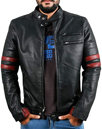 Laverapelle Men's Genuine Lambskin Leather Jacket (Black, Racer Jacket) - 1501535 15 Fashion Online Shop gifts for her gifts for him womens full figure