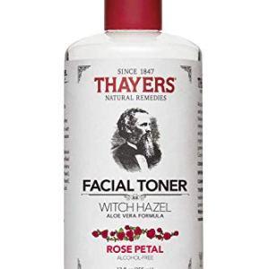 Thayers - Rose Petal Witch Hazel with Aloe Vera Alcohol-Free Toner - 12 Fl Oz (Pack of 2) 51