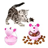 HBK Pet Dogs Cats Fun Bowl Toy Feeder Dog Feeding Pets Dog Tumbler Leakage Food Ball Puppy Pet Training Products