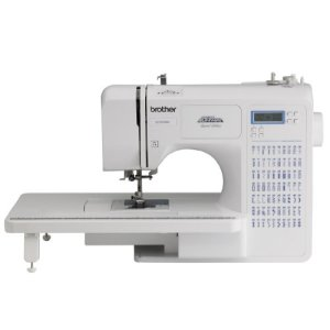 Brother Sewing and Quilting Machine, CE7070PRW, Project Runway, 70 Built-in Stitches, LCD Display, Wide Table, 7…