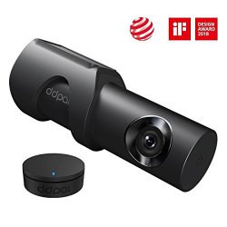 1600P Car Dash Cam, DDPai Mini3 Built-in 32G Car Recorder, 4-Lane Wide Angle with F1.8 Aperture, WDR HD Night Vision, Loop Recording, G-Sensor