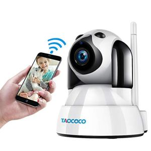 TAOCOCO Dog Camera, Pet Camera, 1080P FHD WiFi IP Surveillance Camera, Wireless Security Dome Camera for 2.4 GHz, Home Baby Monitor Nanny Cam with Smart Pan/Tilt/Zoom, Motion Detection, Night Vision 6