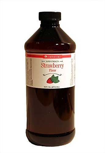 LorAnn Super Strength Strawberry Flavor, 16 Ounce
