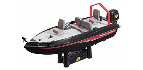 Bear River - Bass Pro Black Remote Control Fishing Boat - Catch up to 2 Pd Fish