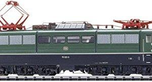 CLASS 151 ELECTRIC W/SOUND & DCC/SX2 – GERMAN FEDERAL RAILROAD DB #151 023-9 (ERA IV 1988, BLACK, RED) 41eI9lyaHTL