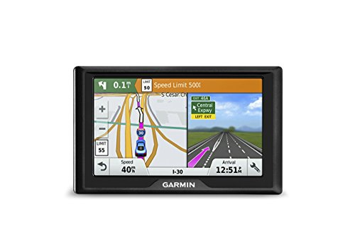 Garmin Drive 50 USA + CAN LM GPS Navigator System with Lifetime Maps, Spoken Turn-By-Turn Directions, Direct Access, Driver Alerts, and Foursquare Data (Renewed)