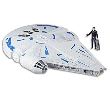 Star-Wars-Force-Link-20-Kessel-Run-Millennium-Falcon-with-Han-Solo-Figure